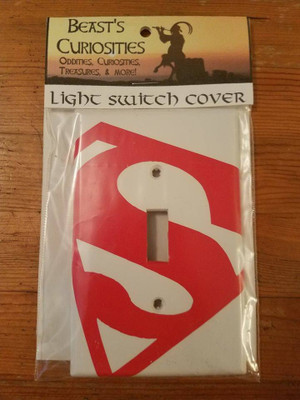 Comics - Superman Light Switch Cover