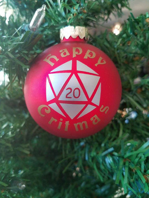 Ornament - Happy Critmas!