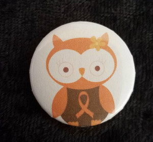 Awareness Button - MS Owl
