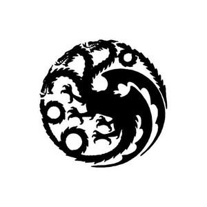 Game of Thrones Vinyl - Targaryen House Crest