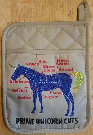 Pot Holder - Prime Unicorn Cuts