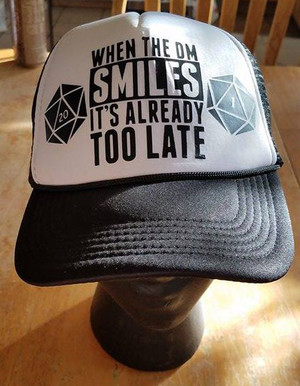 Hats - When The DM Smiles