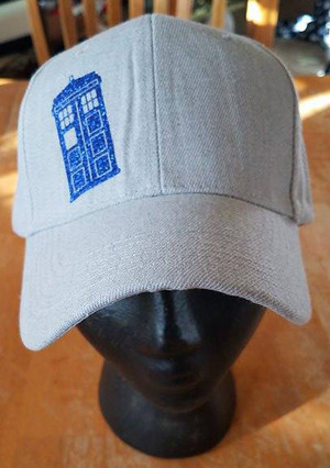 Hats - Doctor Who - Tardis (grey)