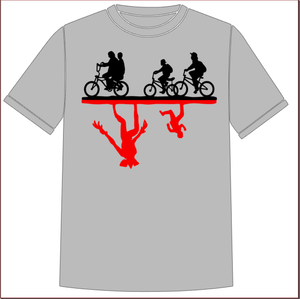 Stranger Things T-Shirt - Bicycles