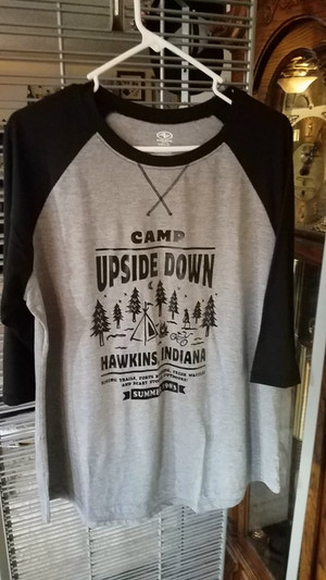 Stranger Things T-Shirt - Camp Upside Down