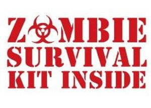 Zombie Vinyl - Zombie Survival Kit Inside