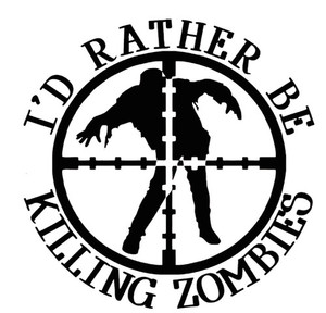 Zombie Vinyl - I'd Rather Be Killing Zombies