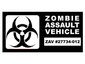 Zombie Vinyl - Zombie Assault Vehical