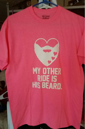 Beard T-Shirt - My Other Ride