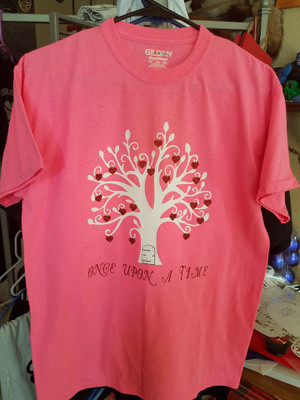 Geek T-Shirt - Once Upon A Time Tree