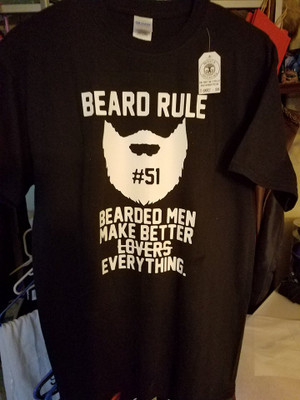 Beard T-Shirt - Rule 51
