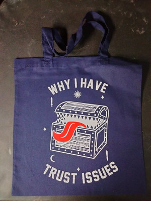 Book Bag - Why I Have Trust Issues
