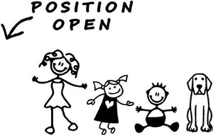 Stick Family Vinyl - Dad Position Open
