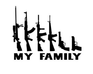 Stick Family Vinyl - This is MY Family