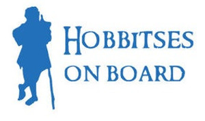 Lord of the Rings Vinyl - Hobbitses On Board