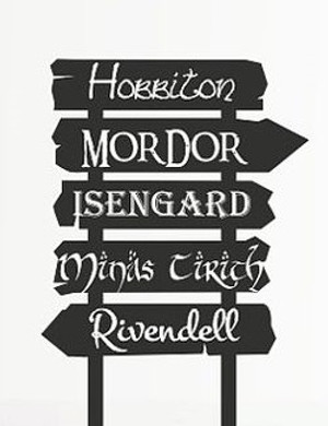 Lord of the Rings Vinyl - Sign Post