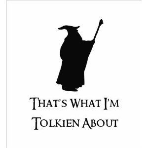 Lord of the Rings Vinyl - Thats What I'm Tolkien About