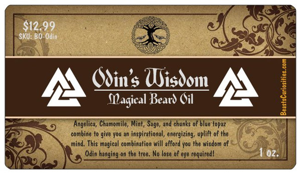 Beard Oil -  Odin's Wisdom