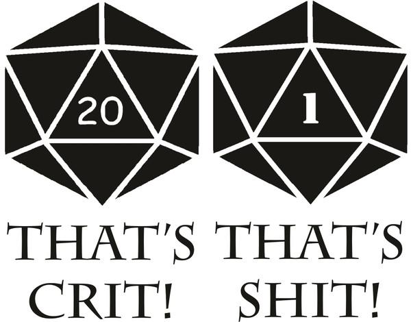 D&D Glass - Crit-Shit