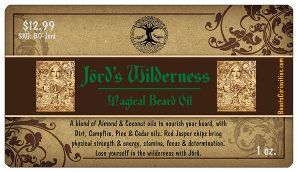 Beard Oil - Jörð's Wilderness