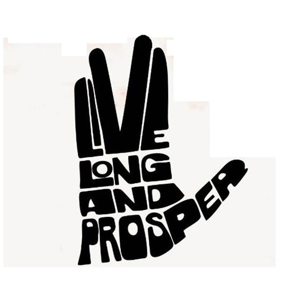 Image result for live long and prosper