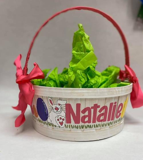 Easter Basket-Short Handle