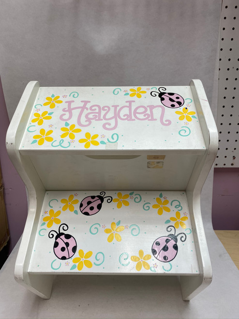 Personalized Two-Step Step Stool
