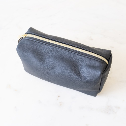Tatum Cosmetic  Bag Black