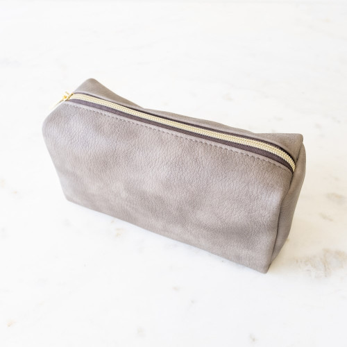 Tatum Cosmetic  Bag Stone