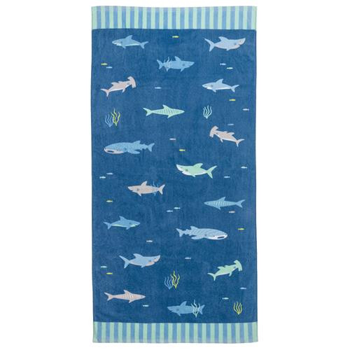 Beach & Bath Towel - Shark