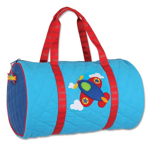 Quilted Duffle - Airplane