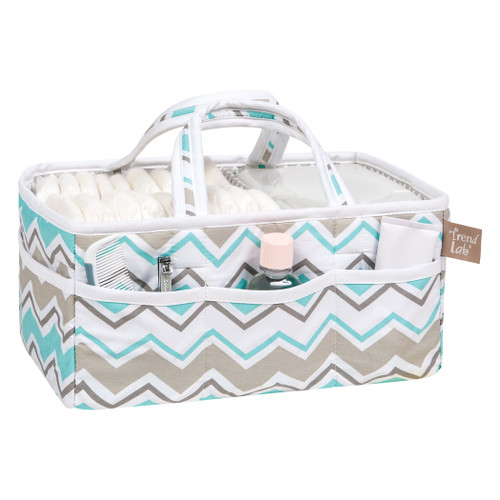 Diaper Caddy - Seashore Waves