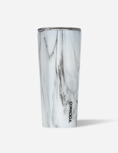 Tumbler 24 oz - Marble White