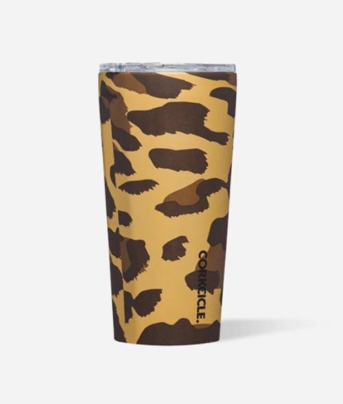 Tumbler 16 oz - Leopard