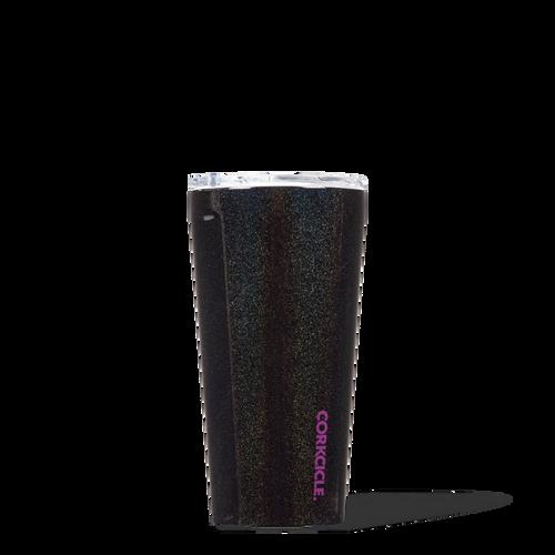 Tumbler 16 oz - Black Glitter