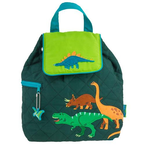Quilted Backpack - Dinosaur