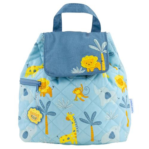 Quilted Backpack - Jungle
