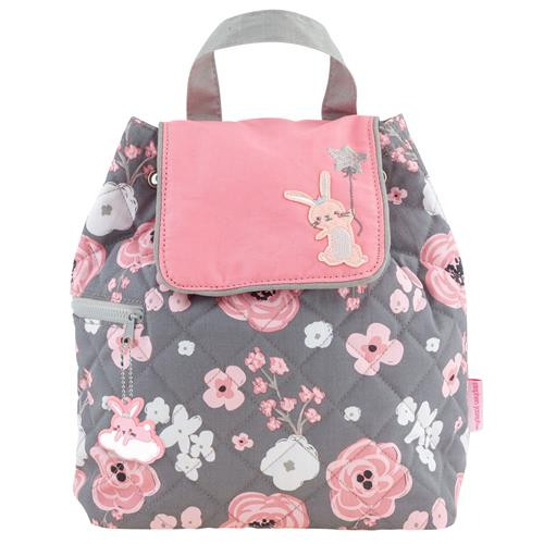 Quilted Backpack - Bunny