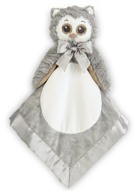Bearington Baby Snuggler - Gray Owl