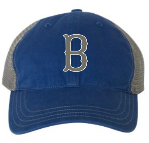 Blasters Garment-Washed Trucker Cap