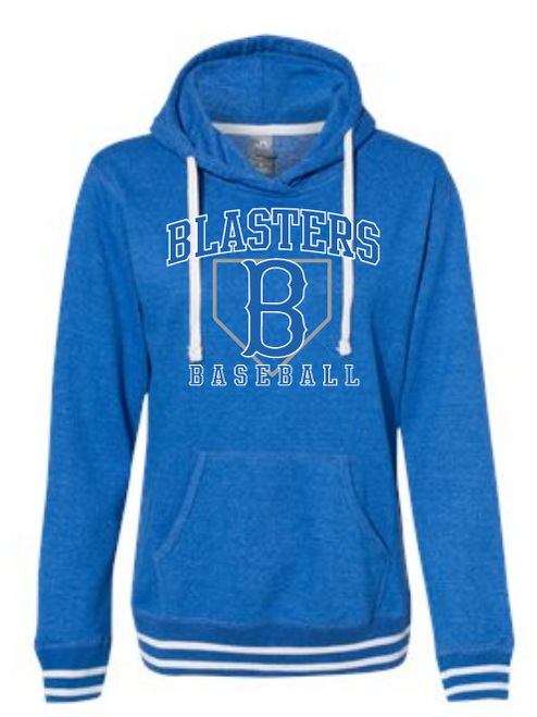 Blaster Royal Women's Relay Hooded Sweatshirt