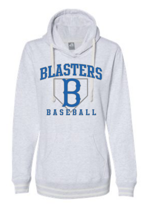 Blaster Grey Women's Relay Hooded Sweatshirt