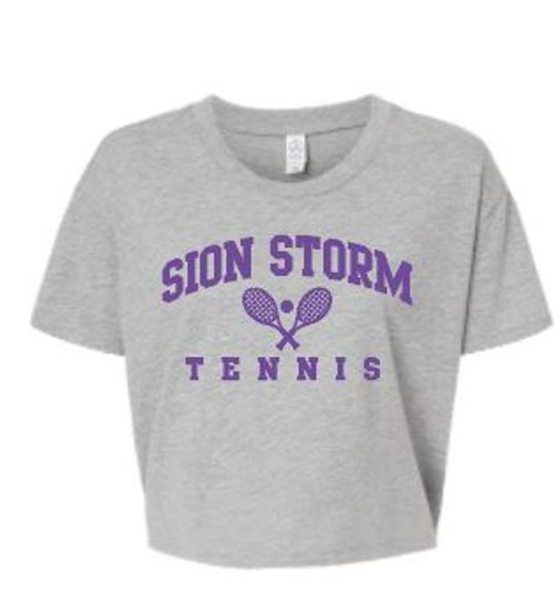 Sion Tennis Cropped Tee