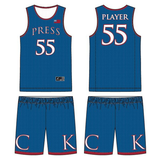 KC Press Team Uniform