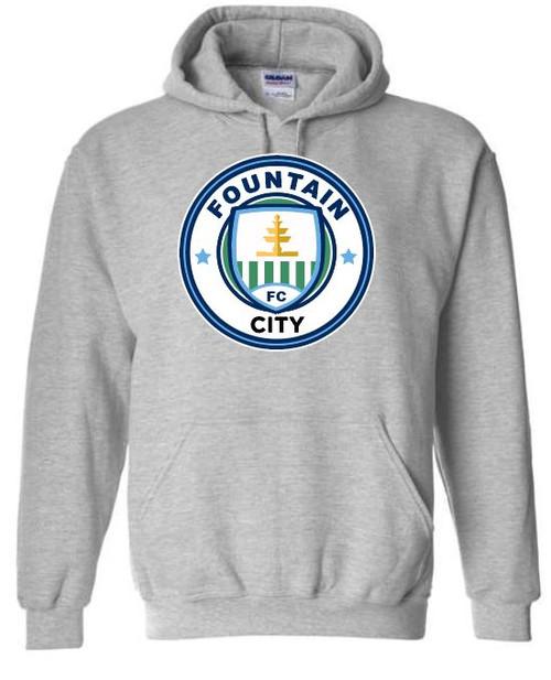 FC Hooded Sweatshirt Grey