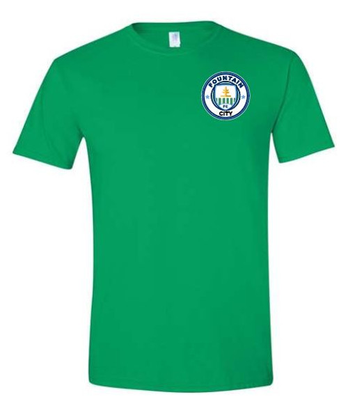 FC SS Tee Green Green