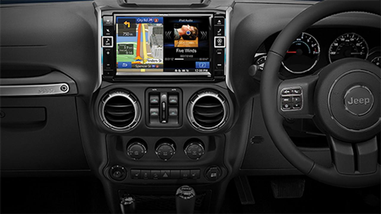 "Alpine Premium 9"" Infotainment System for Jeep Wrangler"
