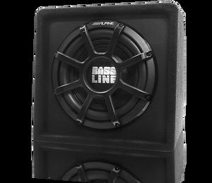 "Alpine SBL-S12S4 Bassline 12"" Single Subwoofer Enclosure"