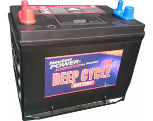 Neuton Power 80A/H Automotive Deep Cycle Battery - 1 Year Warranty