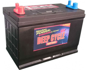 Neuton Power 120A/H Automotive Deep Cycle Battery - 1 Year Warranty